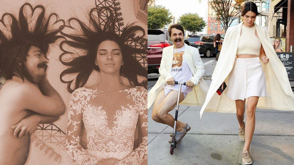 This guy is freakily good at photoshopping himself into kendall kirby jenner and kendall jenner m4hsunfo