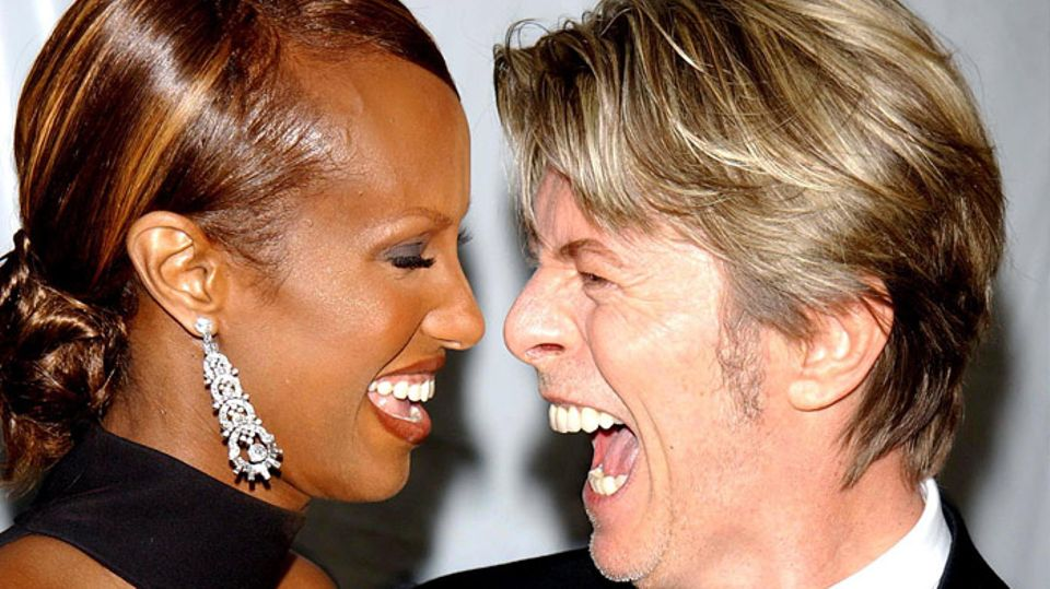 Iman Posts Emotional Message To David Bowie On Their 25th