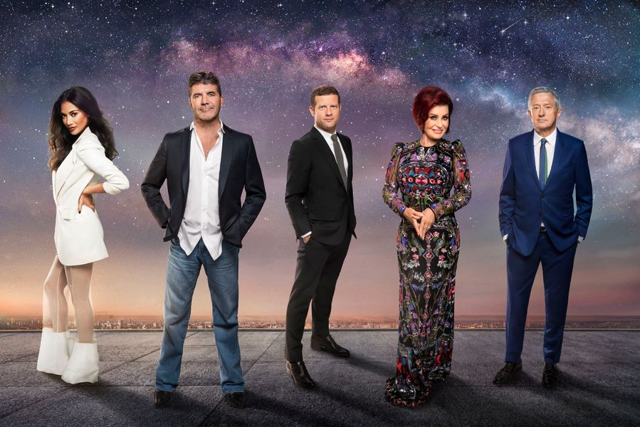 the x factor show and its judges