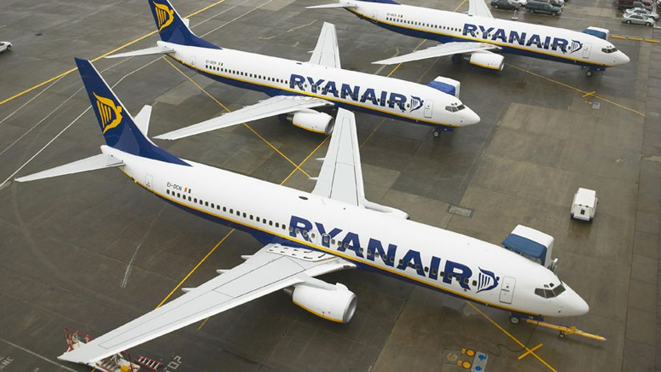 all ryanair flights between scotland and cancelled