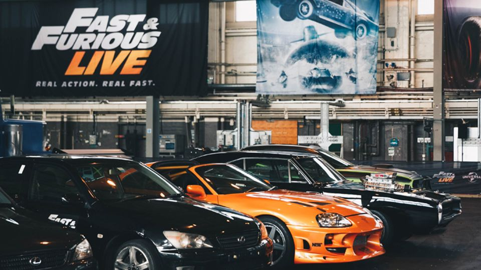 Behind The Scenes Look At The High Action Show Fast Furious Live - Fast and furious car show