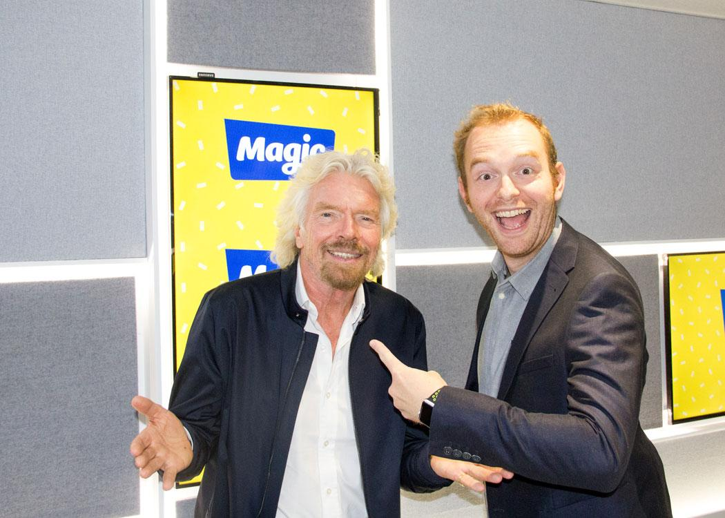 Richard branson podcast