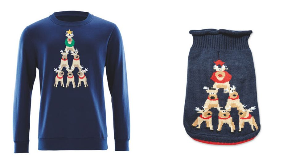Now You Can Buy Matching Christmas Jumpers For You And Your Dog
