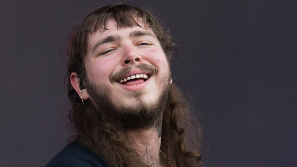Post Malone Just Got The Words Always Tired Tattooed Under His