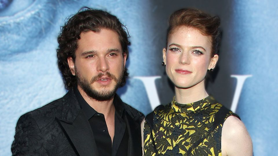 Game Of Thrones Kit Harington And Rose Leslie Got Married