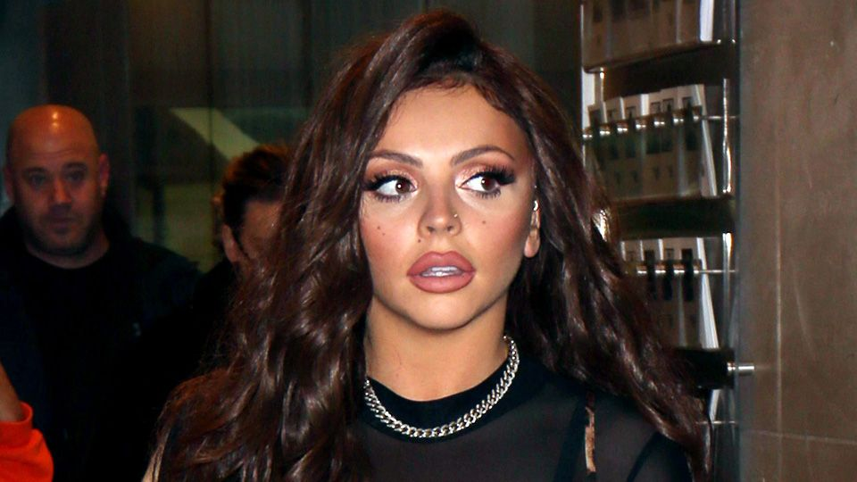 Little Mixs Jesy Nelson Shows Off A New Tattoo On Her Face