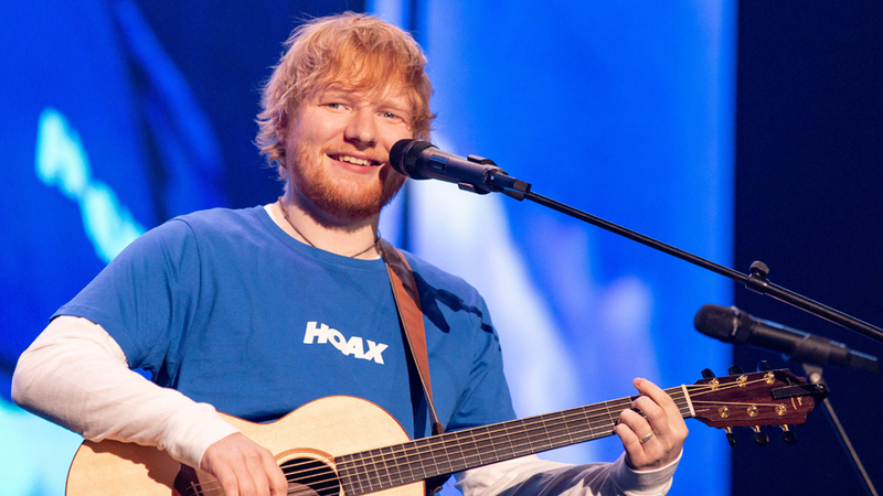 Ed Sheeran has recorded a collaboration with TWO very popular artists
