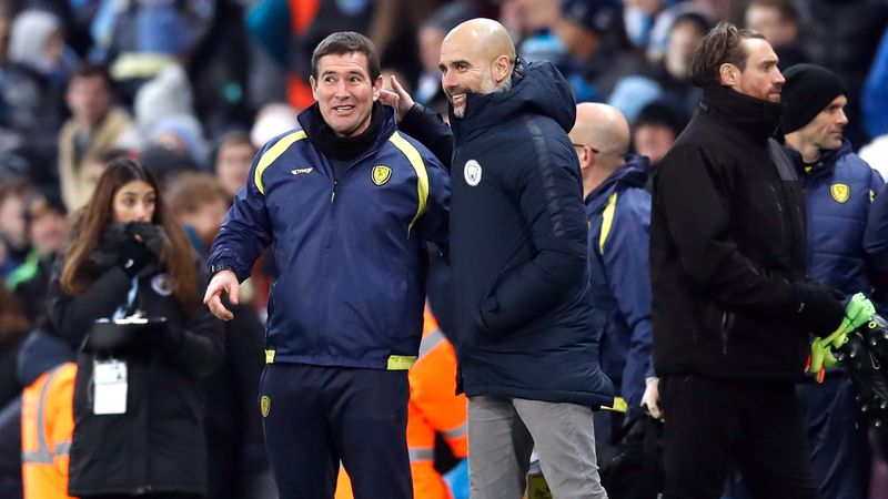 Guardiola surprised by extent of Man City's victory over Burton