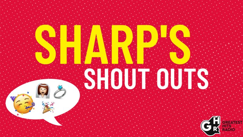 Sharp's Shout Outs