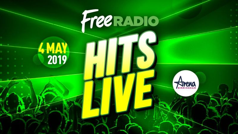 Free Radio Hits Live: All the artists performing on Saturday 4th May