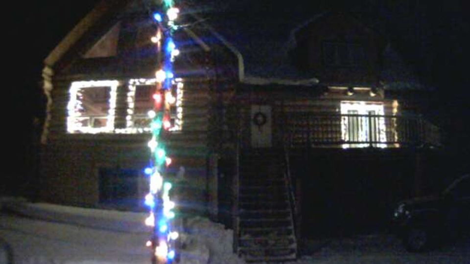 american family let you control their christmas lights online