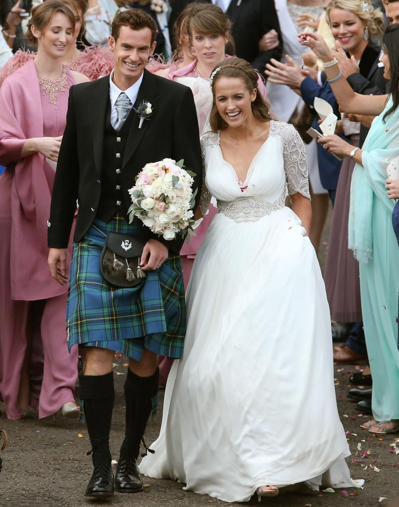 Andy Murray and his wife welcome a baby girl